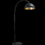 Vloerlamp Larino Gunmetal Goldleaf Masterlight