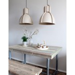 Hanglamp Pulp Fiction Beige Sfeerimpressie