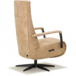 Relaxfauteuil stof Fortuna achter