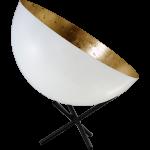 Tafellamp Larino White Goldleaf Masterlight
