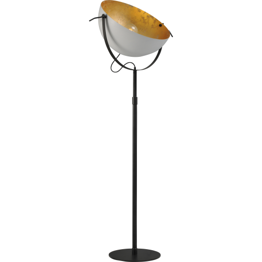 Vloerlamp Larino  60 cm Wit Goldleaf Masterlight