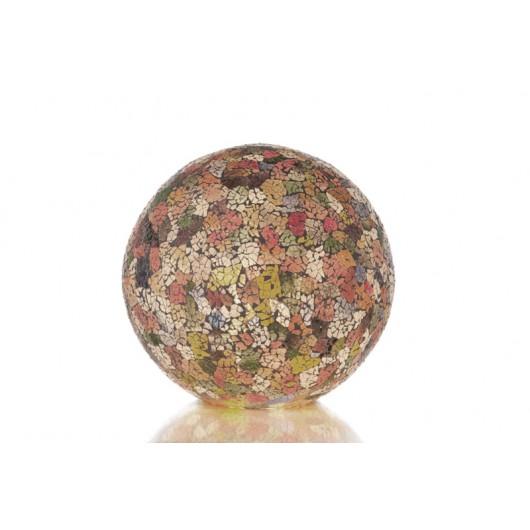 Villa Flor Tafellamp Glass Multicolor Staande bol 40 cm