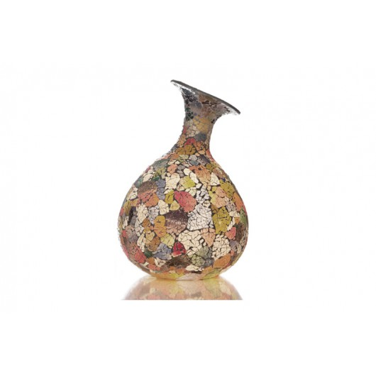 Villa Flor Tafellamp Glass Multicolor Vaas