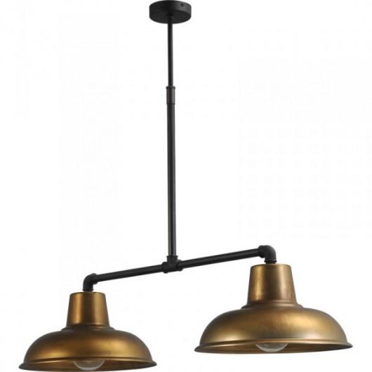 Hanglamp Antik Brass Industria Masterlight 2056-30-10-36