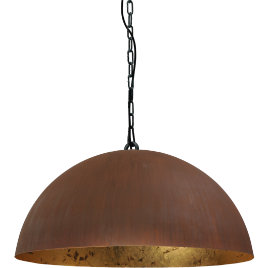 Hanglamp Larino Rust Goldleaf Masterlight 60 cm