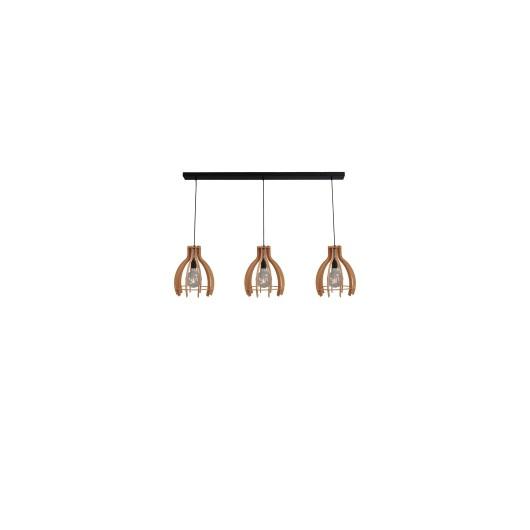 Hanglamp Wooden Fins Masterlight 2280-30-130-3