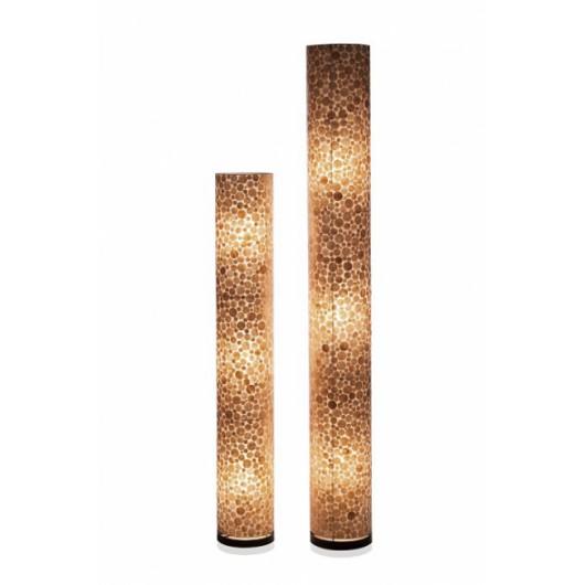 Vloerlamp Coin Gold Cilinder Goud 150 cm