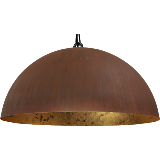 Hanglamp Larino Rust Gold leaf Masterlight