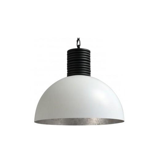Hanglamp Larino White Silverleaf Masterlight