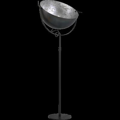 Vloerlamp Larino 70 cm Gunmetal Silverleaf Masterlight