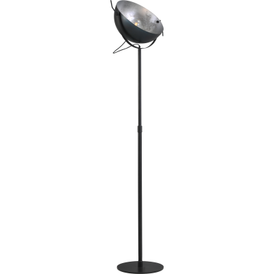 Vloerlamp Larino  50 cm Gunmetal Silverleaf Masterlight
