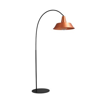 Vloerlamp Prato Copper Masterlight.