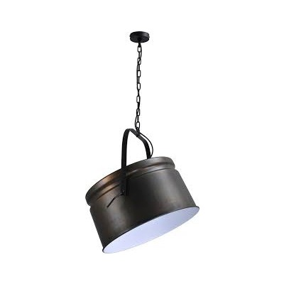 Hanglamp Gunmetal White Industria Masterlight 2009-30