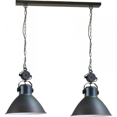 Hanglamp Gunmetal White Industria 2011 Masterlight 2011-30-130-2