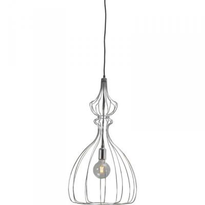 Hanglamp Shiny Nickel Caged Pear Concepto Masterlight 2017-07-38