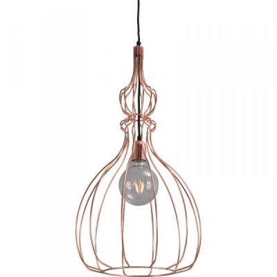 Hanglamp Shiny Copper Caged Pear Concepto Masterlight 2017-56-38
