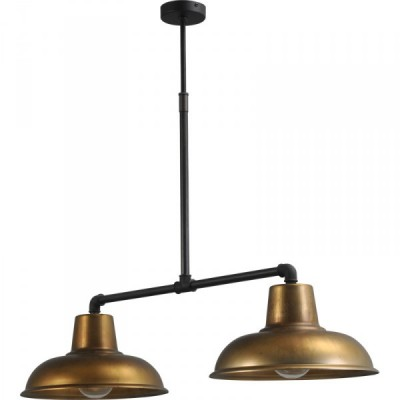 Hanglamp Antik Brass Industria Masterlight 2056-30-10-36