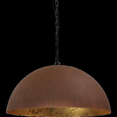 Hanglamp Larino Rust Goldleaf Masterlight 40 cm