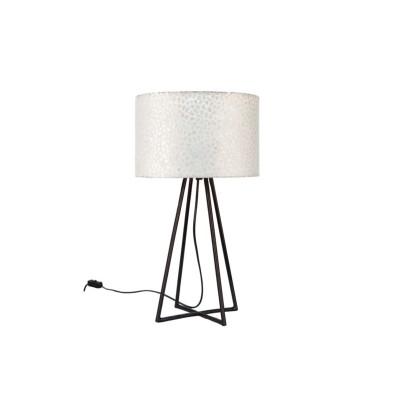 Tafellamp Wangi White met kap 28 cm