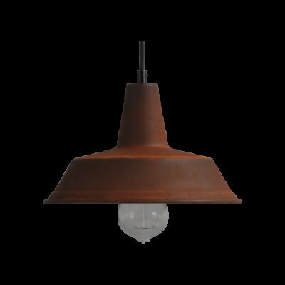 Hanglamp 35 cm Prato Rust Masterlight.