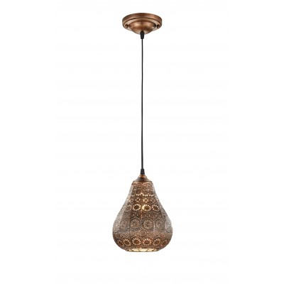 Hanglamp Vintage Jasmin Koper