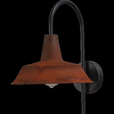 Wandlamp 25 cm Prato Rust Masterlight.