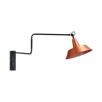 Wandlamp 35 cm Prato Copper Masterlight.