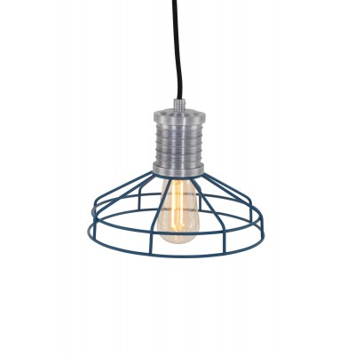 Hanglamp Wire-O Blauw Anne Lighting