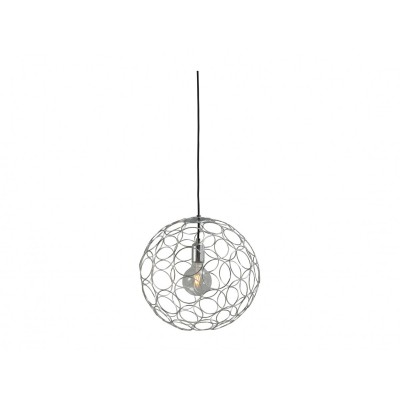 Hanglamp Shiny Nickel Caged SPhere Concepto Masterlight 2016-07-40