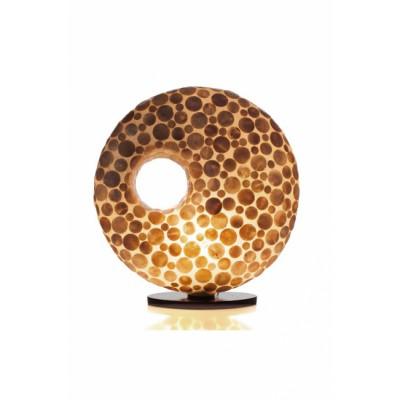 Tafellamp Coin Gold Donut Goud 40 cm