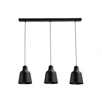 Hanglamp Camillo Black Concepto Masterlight 2756-05-100-3