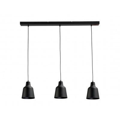 Hanglamp Camillo Black Concepto Masterlight 2755-05-100-3