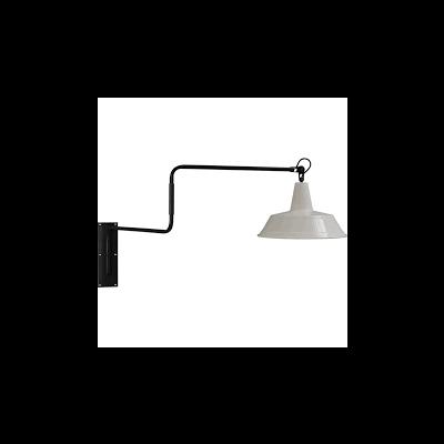 Wandlamp 35 cm Prato White Masterlight.