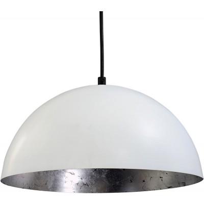 Hanglamp Larino White Silver leaf Masrtlighting