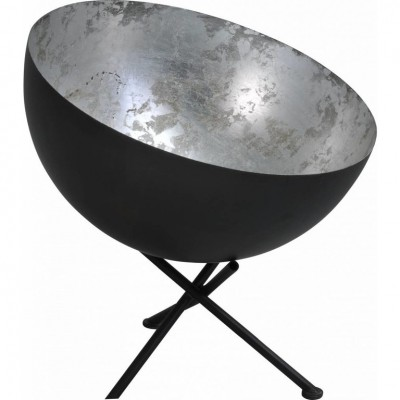 Tafellamp Larino Gunmetal Silverleaf  Masterlight